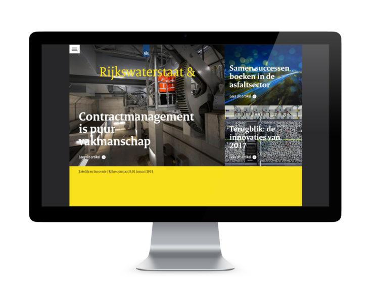 Rijkswaterstaat &: communicatie met zakelijke markt