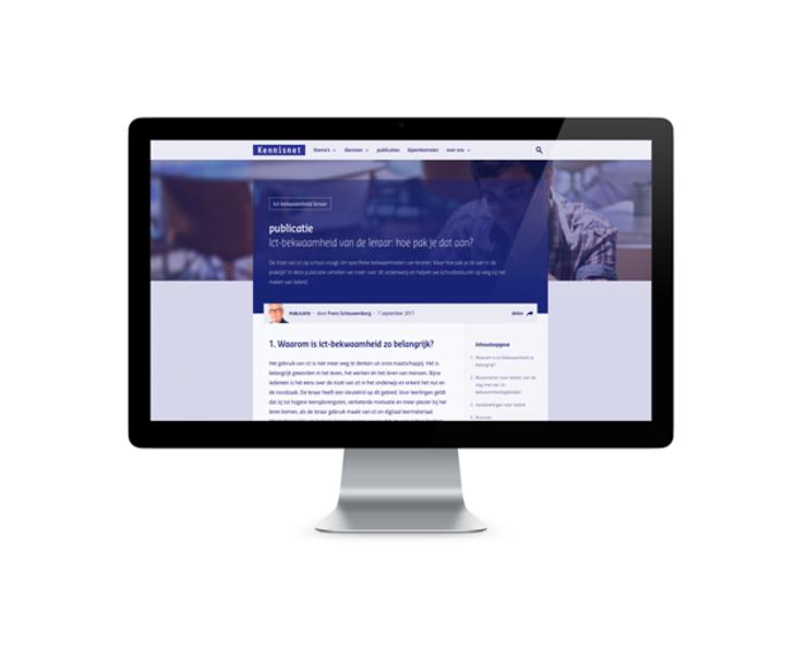 Handreiking: ICT-bekwaamheid docenten