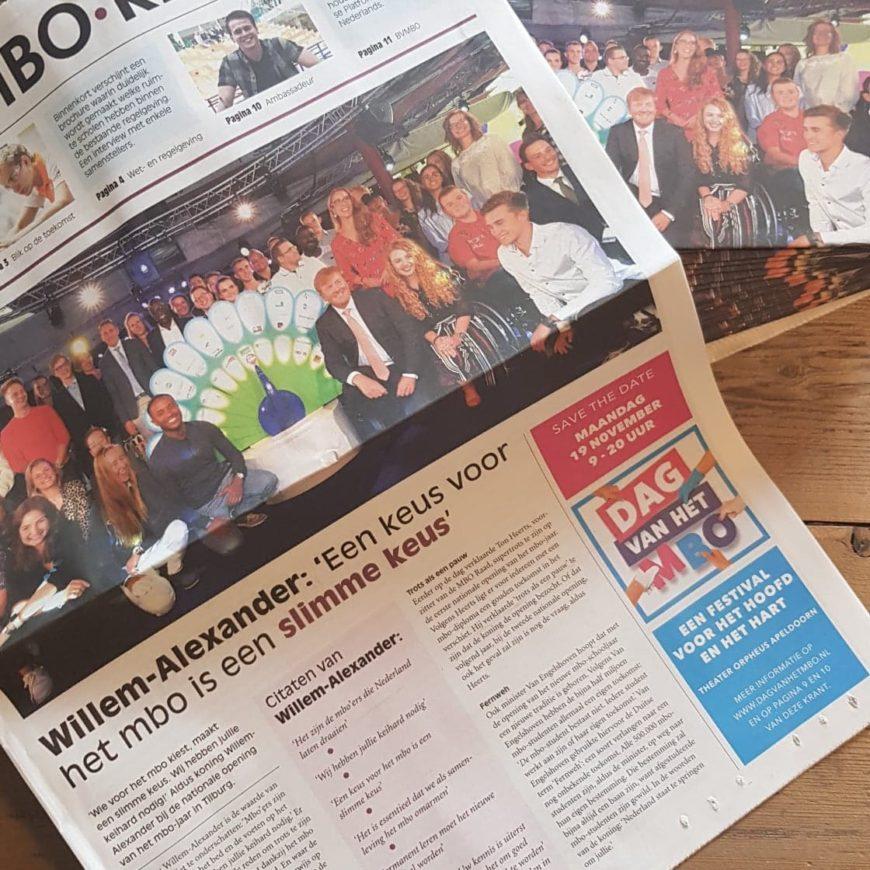 MBO-krant: vijftigste uitgave voor mbo-professionals