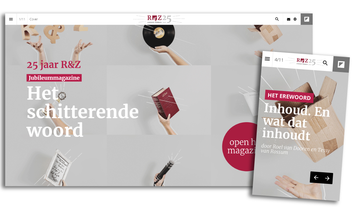 Online magazine over het schitterende woord